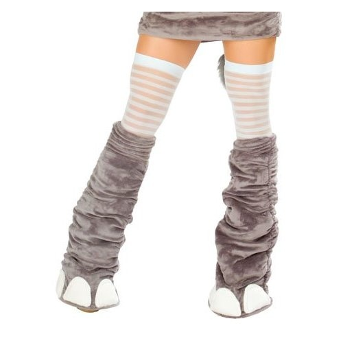 Elephant Costume Legwarmers - ONE SIZE: Amazon.com: Clothing