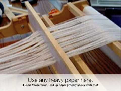 Warping a Rigid Heddle Loom. http://www.youtube.com/watch?v=2koGagZPLro