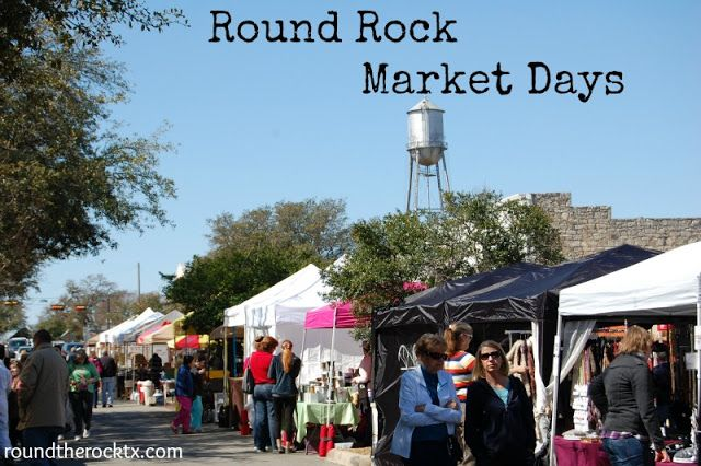 'Round the Rock: Thankful to Live in Round Rock ~ Day 2: Round Rock Market Days