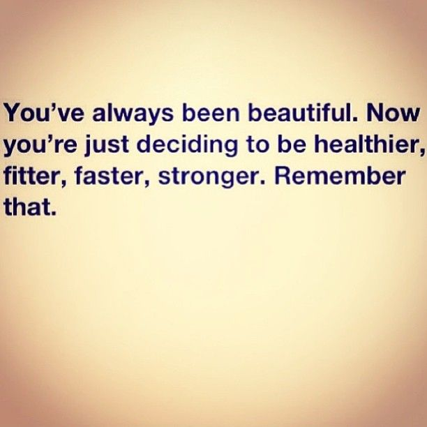 Fitter, stronger, faster and healthier.