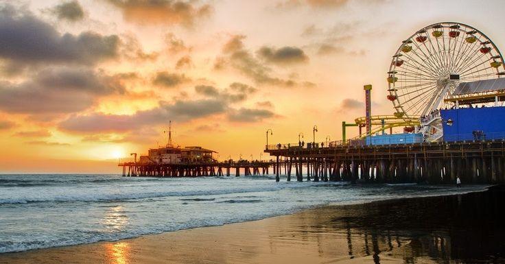 Roteiro de 2 dias em Santa Mônica #viagem #california