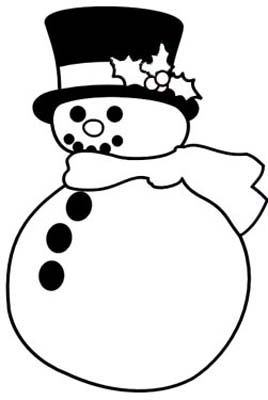 blackline christmas coloring pages - photo#12
