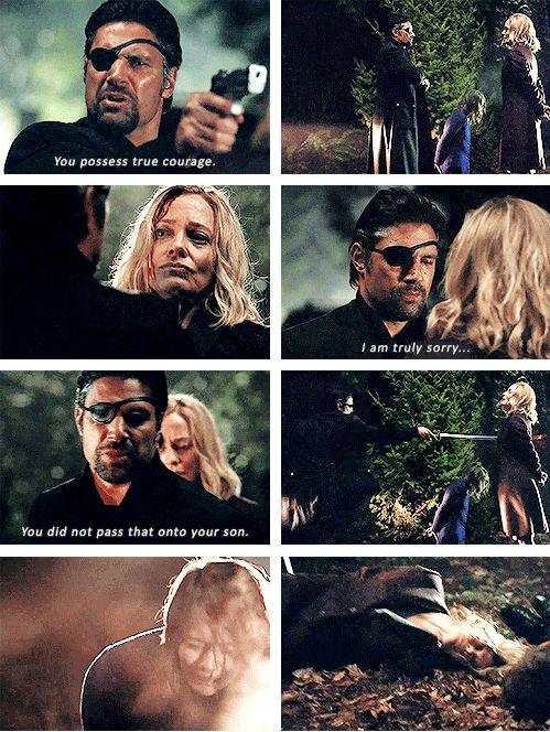 Arrow - Slade  Moira #2.20 #Season2 What an ending! So unexpected yet heartbreaking...