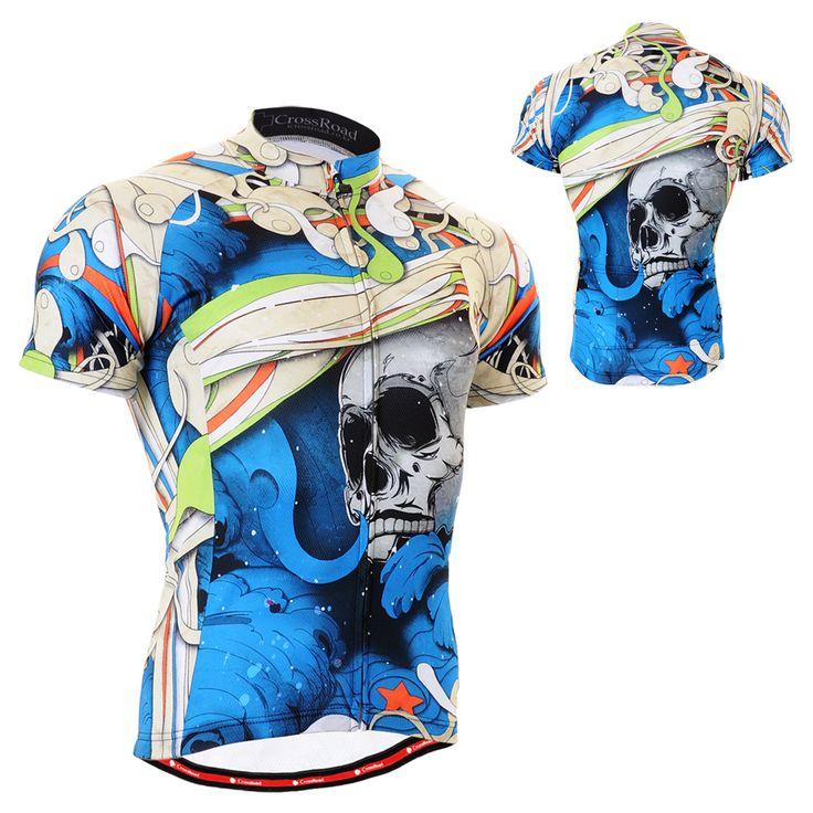 All-purpose Gear: FixGear, CS-19B2 Men's Cycling Jersey Short Sleeve