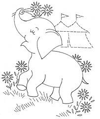 baby quilt animals Elephant 2 aa