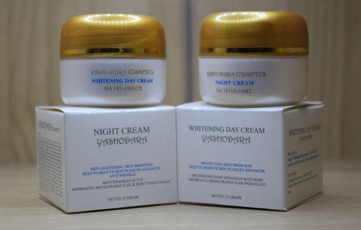 Cream Pemutih Wajah Yashodara Whitening