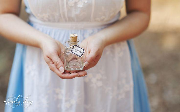 Alice in Wonderland Photography. Drink me.