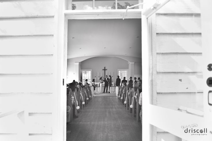 My Wedding - Historic AllaireVillage Chapel - Farmingdale, NJ. Kristen Driscoll Photography