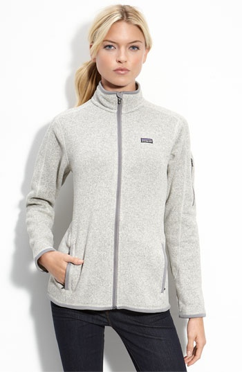 love this Patagonia sweater jacket in natural