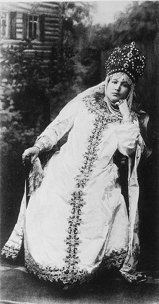 Princess Maria Nikolaievna Leuchtenberg at the 1903 Imperial Ball at the Winter Palace, the last one ever held