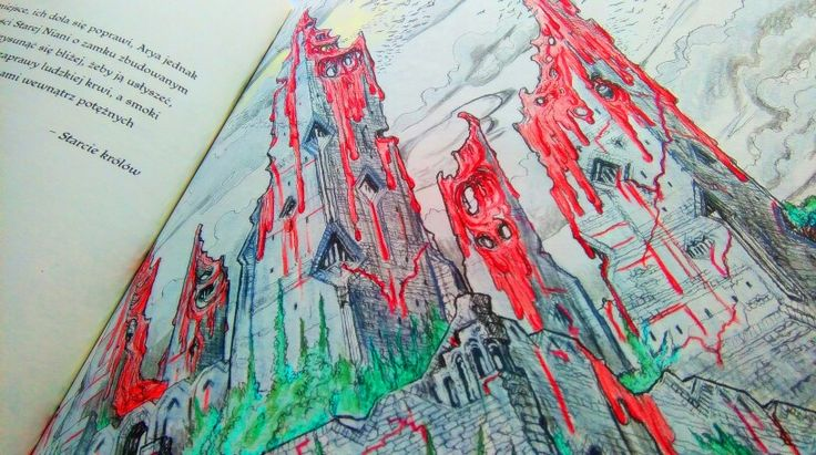 Harrenhall Game of Thrones, coloring book