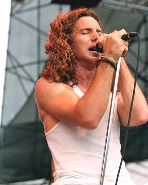 Eddie Vedder, that voice