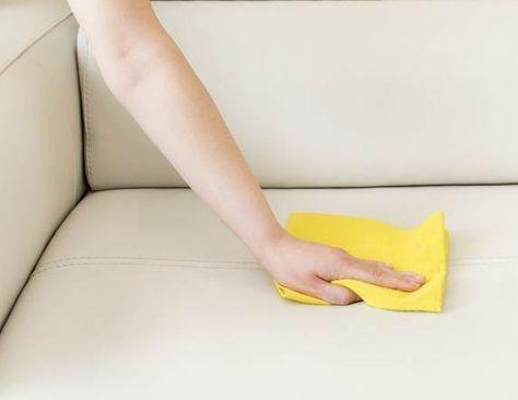 Nettoyer Canapé Cuir Blanc Très Sale
