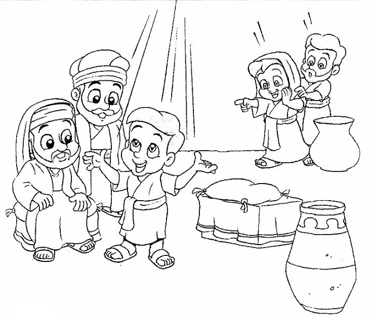 Jesus goes to the temple coloring page coloring pages for Jesus as a boy in the temple coloring page