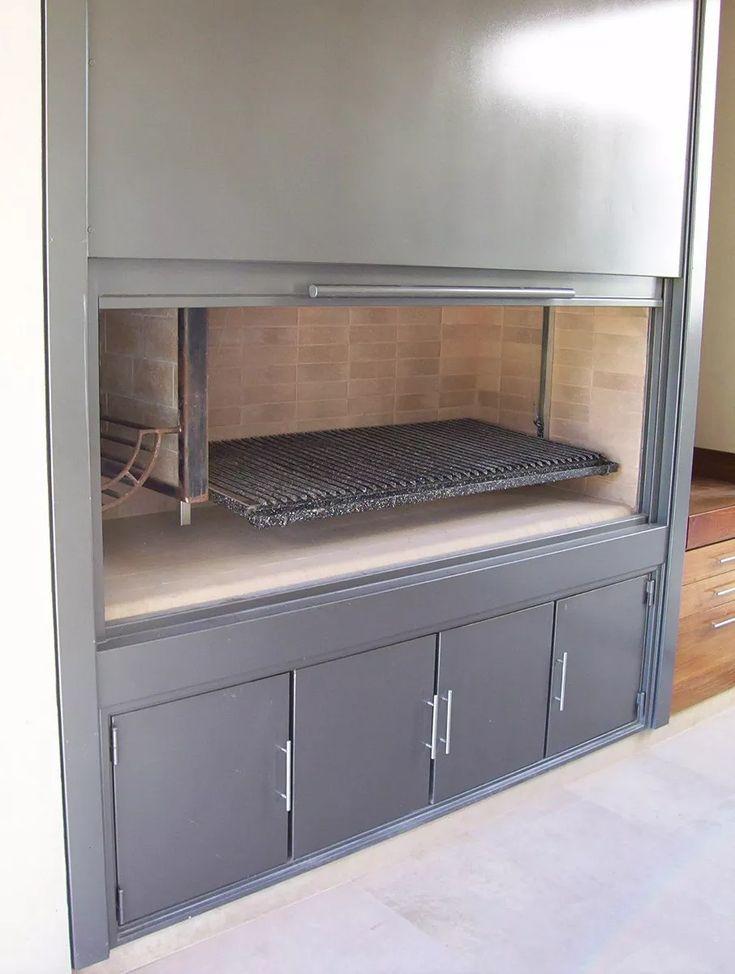 dac-design, mueble frente para parrilla
