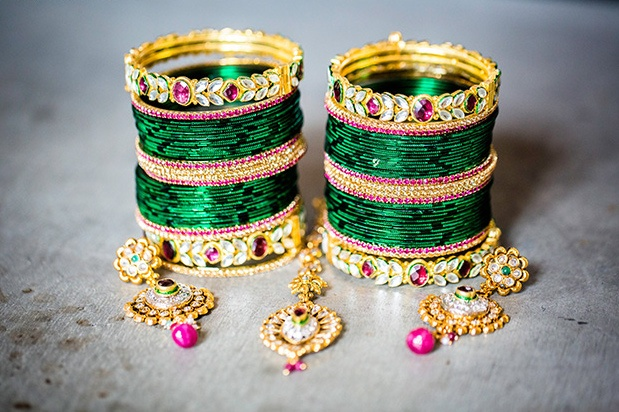 Indian Bangles -- Beautiful Indian Brides