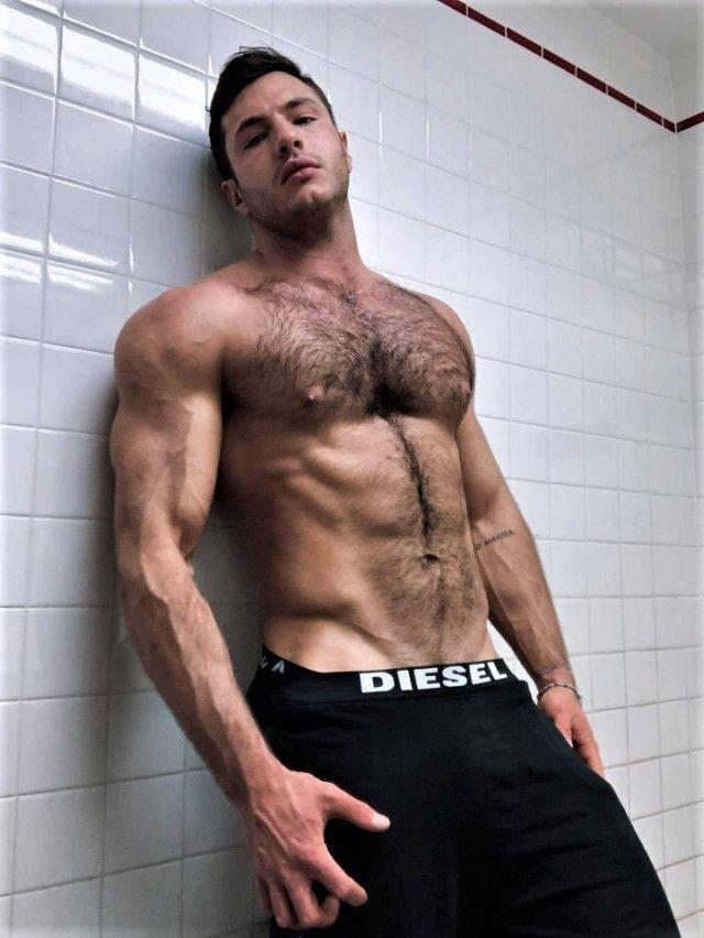 Muscle men hairy m.tonton.com.my