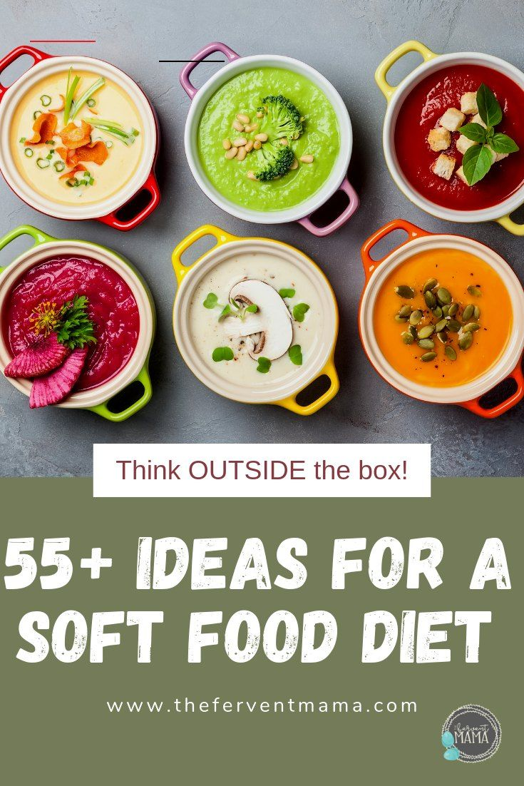 A massive list of 55 soft foods to eat after oral surgery