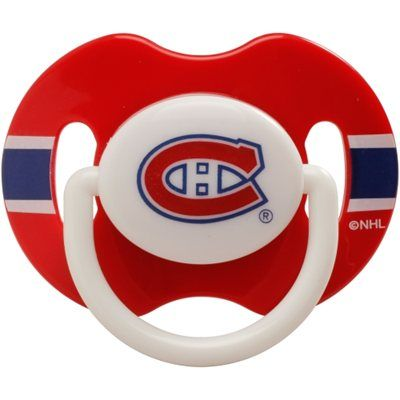 Montreal Canadiens Two-Pack First Time Fan Pacifiers *Sold out on nhl shop but available on TSC.ca