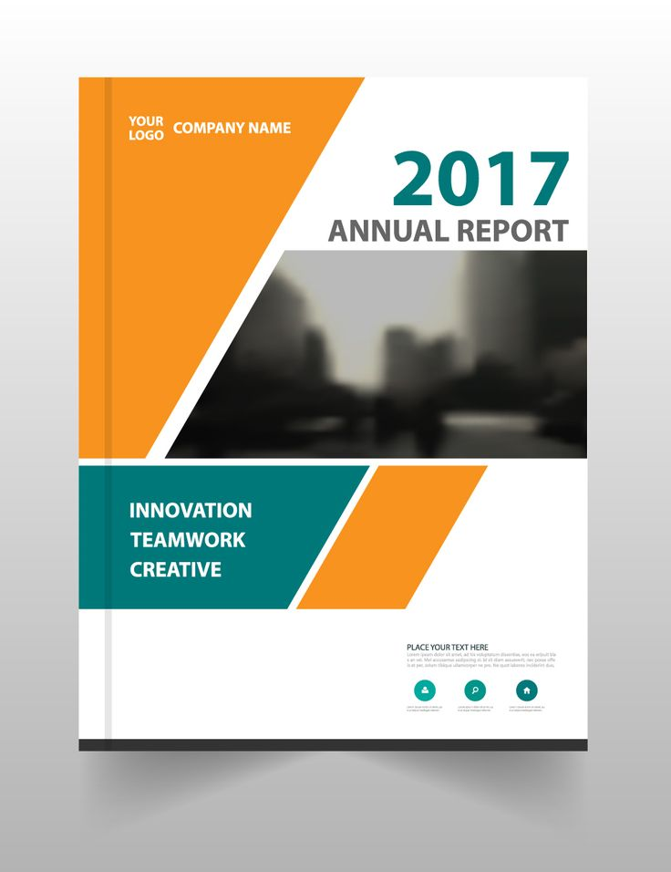 5 Free Annual Report Brochure Templates | DezineMag