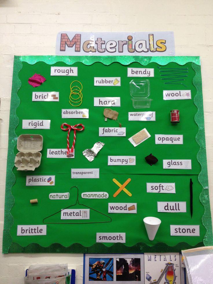 Year 3 Materials Display 2013/2014