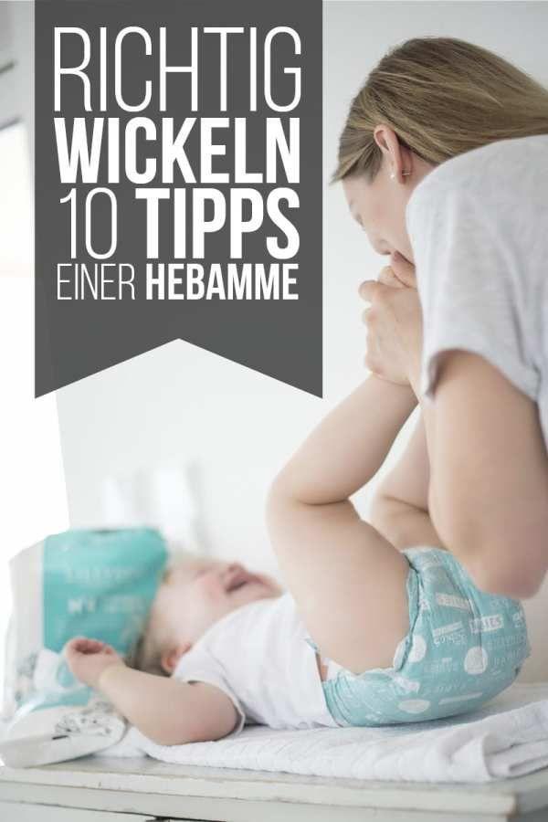 richtig wickeln - 10 tipps einer hebamme