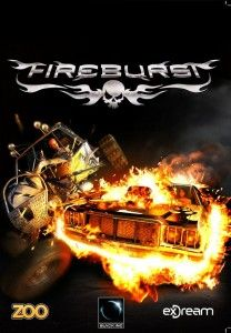 Fire Burst Review: Fire Burst Gameplay has the blast opponents off the road with Fire burst, an explosively fun & fast paced arcade racing game with the subtle graphics. This game involves various trucks, cars & buggies. There're above then 12 tracks which have been added in this game. About sixteen sarcastic drivers are added in the game. Each driver has unique style & taunt. Each of them uses various explosive & fire based special abilities to turn the opponents' cars into a pyre of parts.