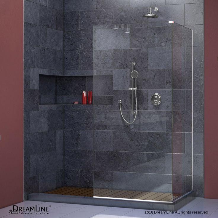 the dreamline linea collection of walk in shower panels is a welcome addition to any contemporary bathroom - Glass Sheet Bathroom 2015