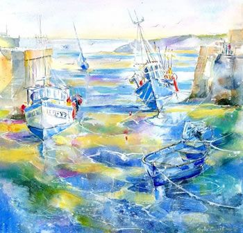 1000 Images About Watercolor Boats On Pinterest