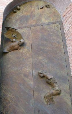 Igor Mitoraj, new door designed for Santa Maria degli Angeli e dei Martiri Basilica, Roma, Italy