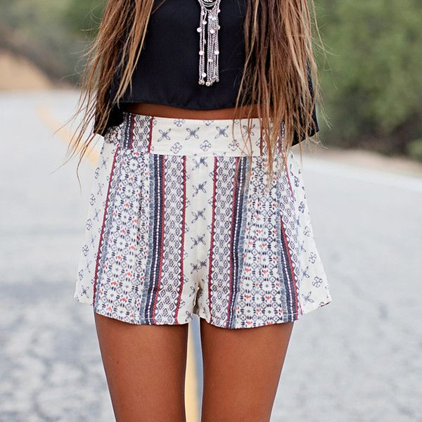 Electric Avenue Shorts