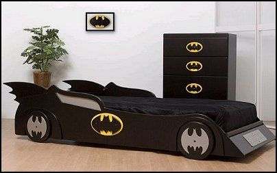 batman bed for children