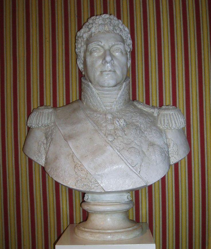 Bust of Louis-Alexandre Berthier in the Chateau de Chambord.