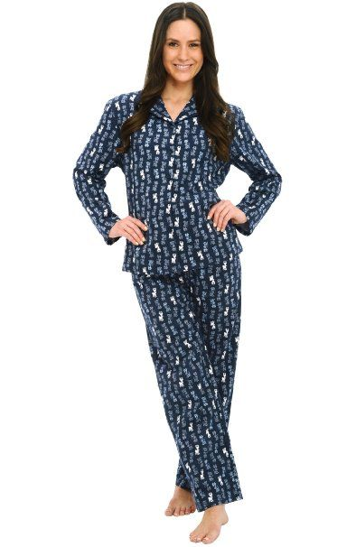 Our womens flannel pajamas and sleepwear are super soft and extra cozy. Shop flannel nightgowns for women from Lanz of Salzburg, Eileen West and more.