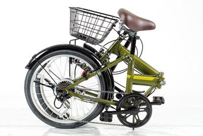 【お店で受取り選択可】 スリフト-G 206 20インチ 外装6段変速 ダイナモランプ カゴ・カギ標準装備の折りたたみ自転車 小径車 ミニベロ あさひ ASAHI 折りたたみ自転車 折りたたみ自転車|サイクルベースあさひ ネットワーキング店