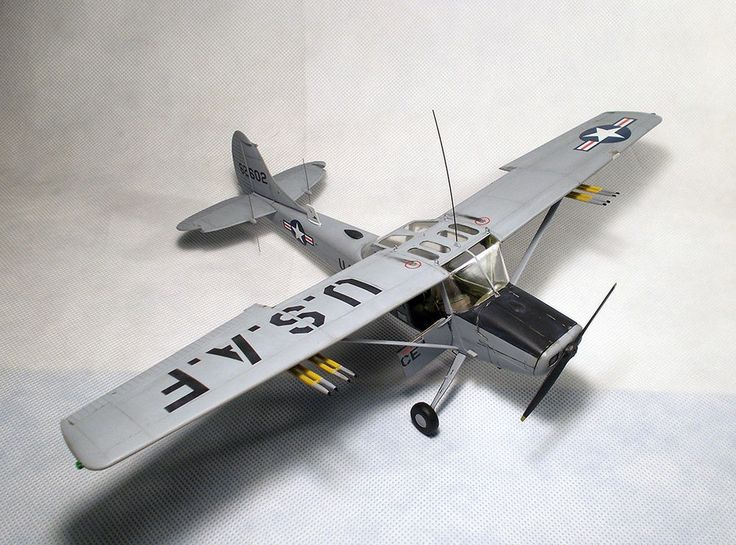 PRO BUILT 1/32  Cessna L-19/O-1 Bird Dog  #RODEN
