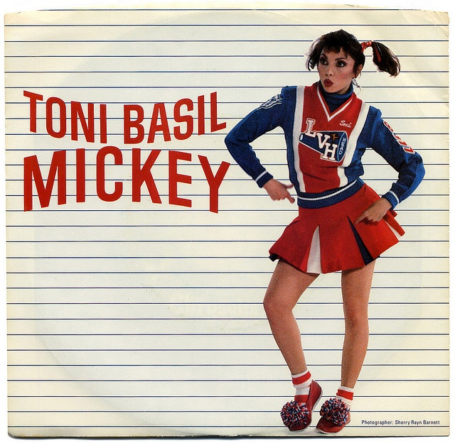 """Mickey"" by Toni Basil.  Could not escape this song anywhere you went in the summer/fall of 1982."