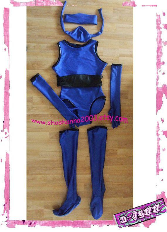 d jenn halloweencosplay mortal kombat kitana costume made to or - Mortal Kombat Smoke Halloween Costume