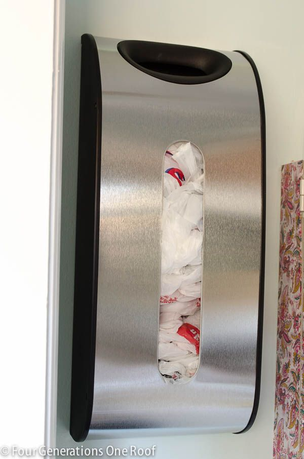 Best 25 Grocery Bag Storage Ideas On Pinterest Plastic