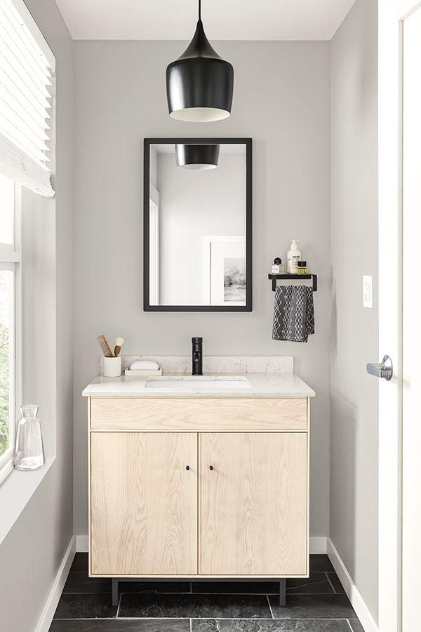 Hudson Bathroom Vanity Cabinets With Top Modern Bathroom