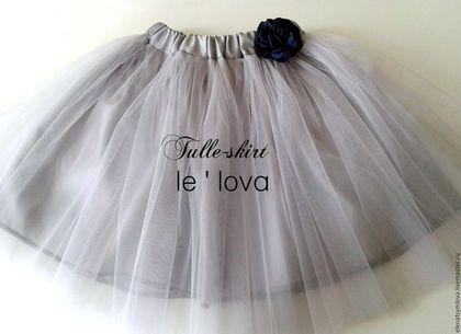 Купить или заказать Детская юбка из фатина цвет Мельхиор в интернет-магазине на Ярмарке Мастеров. Все детские юбочки из фатина - любой цвет, возраст от 1-го года, длина до 45 см- 1600 руб., от 45 см - расчет индивидуальный. 2 слоя мягкого или средней жесткости фатина, атласная подкладка, резинка в поясе, петли из атласной ленты для вешалки! Мягкая вешалка - в ПОДАРОК!). Можно добавить 1-2 слоя (+300 руб/ 1 слой). Напишите нам возраст ребенка, размер талии и длину юбки, которую хочется. т.