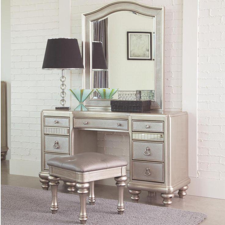 Grey Dressing Table Set