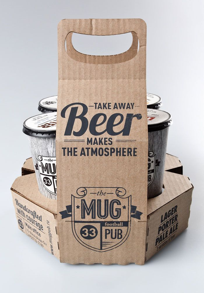 I like the packaging!  way better than those egg carton things for drinks that are hard to carry.