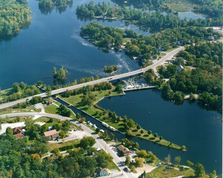 Trent-Severn Waterway National Historic Site of Canada: Lock 31 - Buckhorn, Ontario
