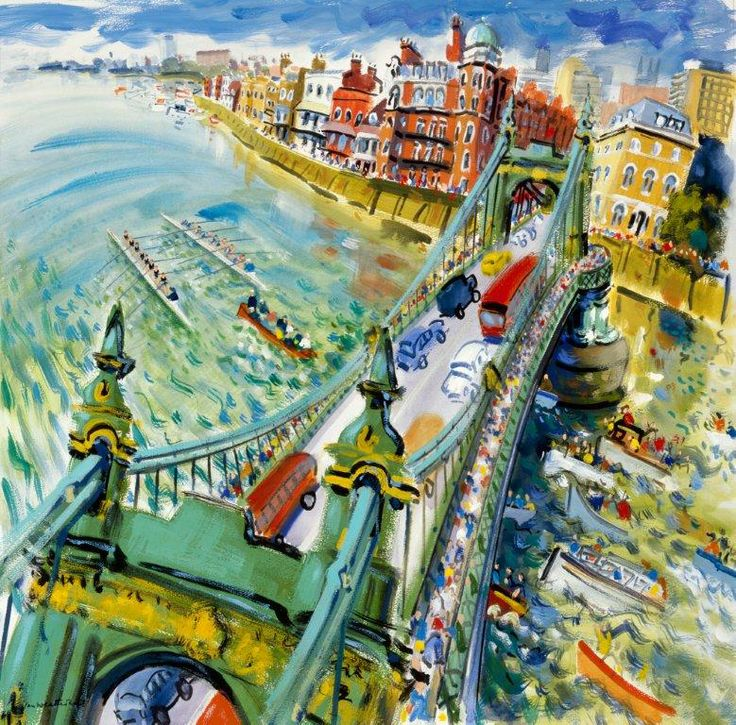 The Boat Race, Hammersmith |