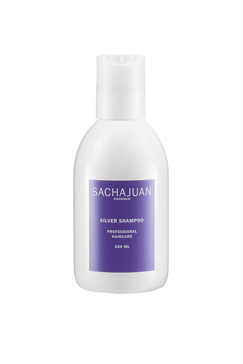 Has purple pigments: You know what that does. Also has UV filters: You know what that does too but are still impressed/worried about your hair needing SPF. Sachajuan Silver Shampoo, $31, sephora.com.