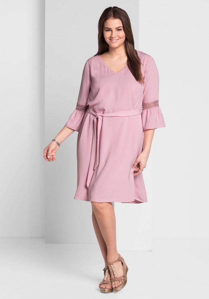 6d1fa5ee55a45 sheego Style Oversized-Pullover mit Spitzeneinsatz   Fashion (latest ...