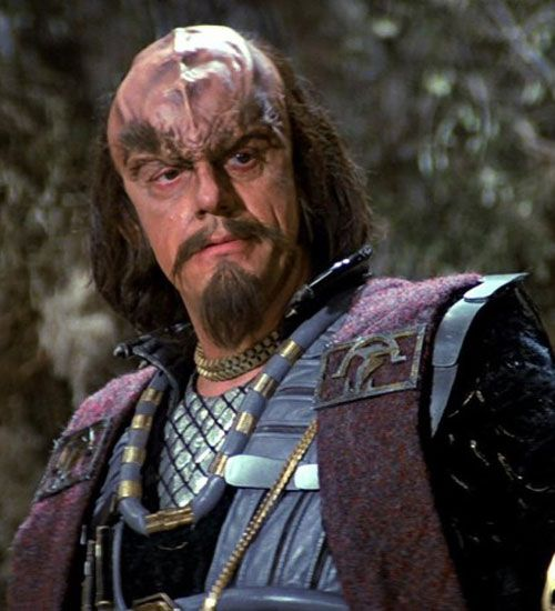 """Christopher Lloyd as Kruge - """"Star Trek III: The Search for Spock,"""" 1983."""