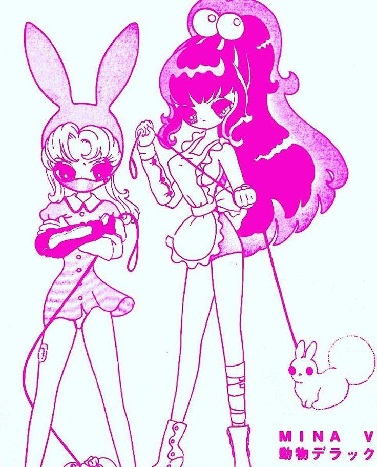 Matthew Thomas Icarus On Instagram Junkomizuno Mizunojunko Manga Minaanimaldx Cute Kawaii Bnd Snm Bunny Comic Japanesecomic Ar Kawaii Doll Art Artwork
