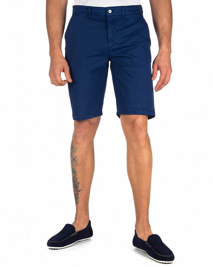 Pantalones cortos Hombre Harmont & Blaine ® Azul | ENVIO GRATIS